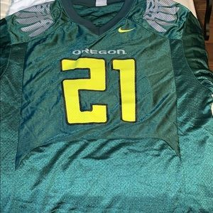 Authentic Oregon ducks football jersey Nike XL